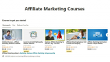 10+ Best Udemy Affiliate Marketing Courses with Certificate of Completion!